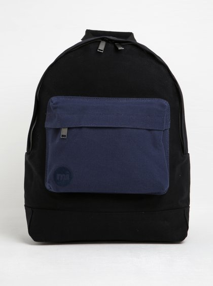Černo-modrý unisex batoh Mi-Pac Canvas Tonal 17 l