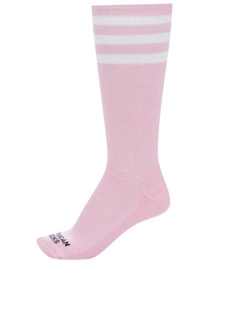 Růžové dámské podkolenky American Socks 24c54c2cff
