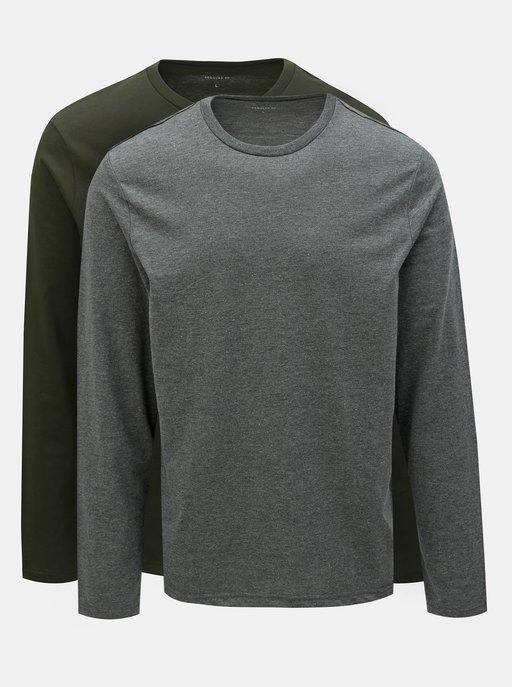 e92b42a05675 Čierne triko s dlhým rukávom JP 1880