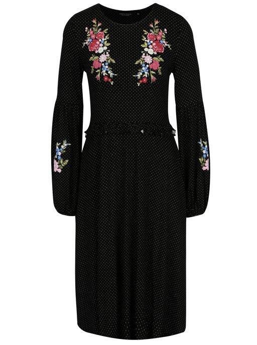 6ac53e360d6b Čierne mikinové šaty ONLY Nadia