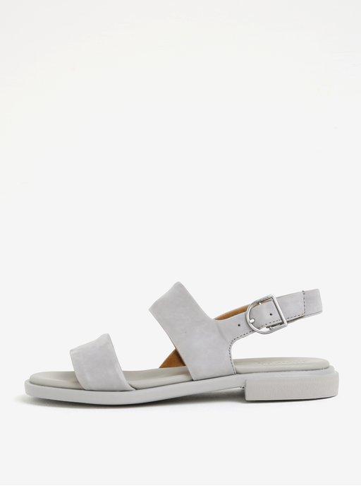 eb8646bcbf9c Sivé sandálky s kvetovaným motívom Refresh