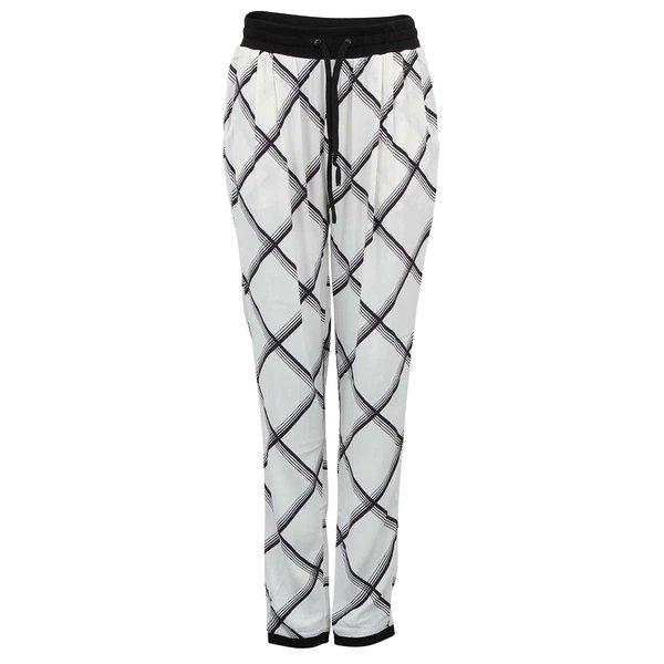 Pantaloni albi largi YAS Ginny cu model de la Y.A.S in categoria Blugi, pantaloni, colanți