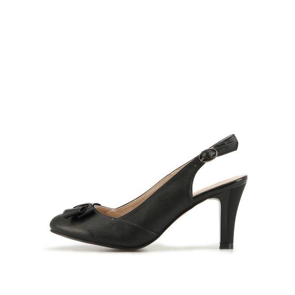Pantofi negri decupați de la Elisabeth de la Elisabeth in categoria pantofi cu toc