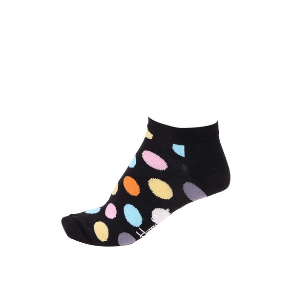 Șosete de bărbați Happy Socks negre cu buline de la Happy Socks in categoria Dresuri si șosete