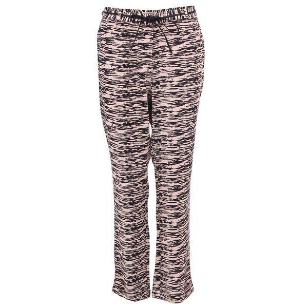 Pantaloni de damă cu dungi roz cu negru Scotch & Soda