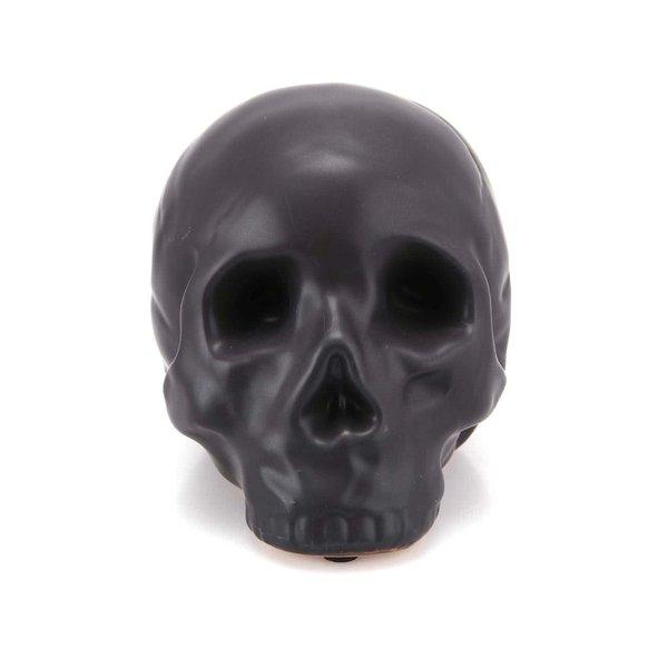 Pusculita neagra in forma de craniu - Kikkerland Coin