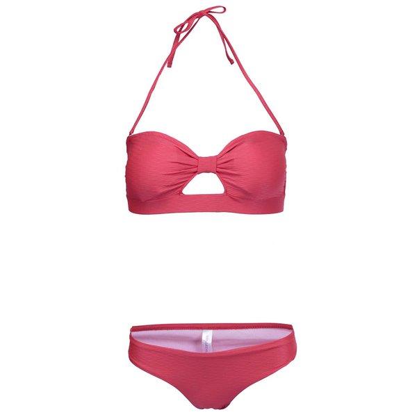 Costum de baie roșu cu sutien bandeau Relleciga Cherry de la Relleciga in categoria Lenjerie intimă, pijamale, costume de baie