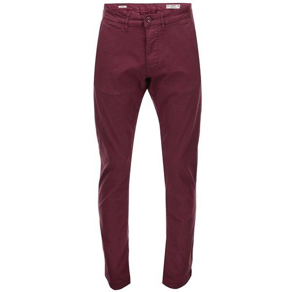 Pantaloni chino vișinii Jack & Jones Bolton de la Jack & Jones in categoria Blugi, pantaloni, pantaloni scurți