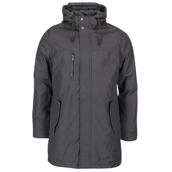 Jachetă gri închis lungă ONLY & SONS Sheldon de la ONLY & SONS in categoria Geci, paltoane, jachete