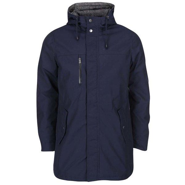 Jachetă bleumarin lungă ONLY & SONS Sheldon de la ONLY & SONS in categoria Geci, paltoane, jachete