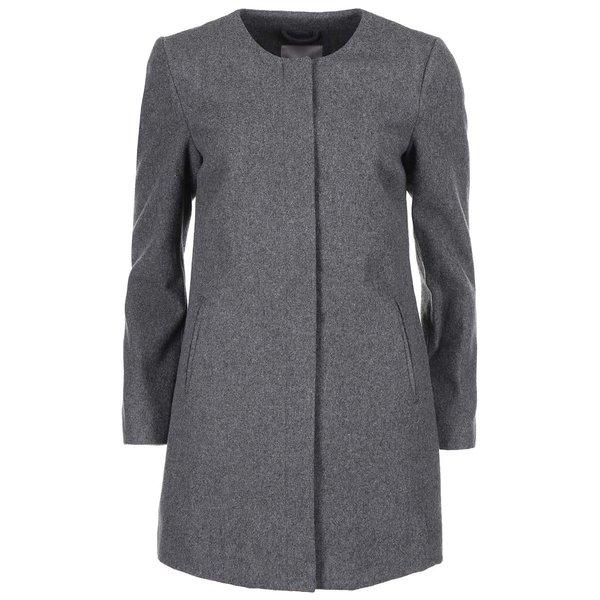 Palton de dama Louise Daisy, trei sferturi, de la VERO MODA, gri