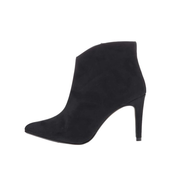 Botine OJJU negre cu toc înalt de la OJJU in categoria pantofi cu toc