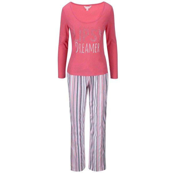 Pijama roz Lipsy Dreamer