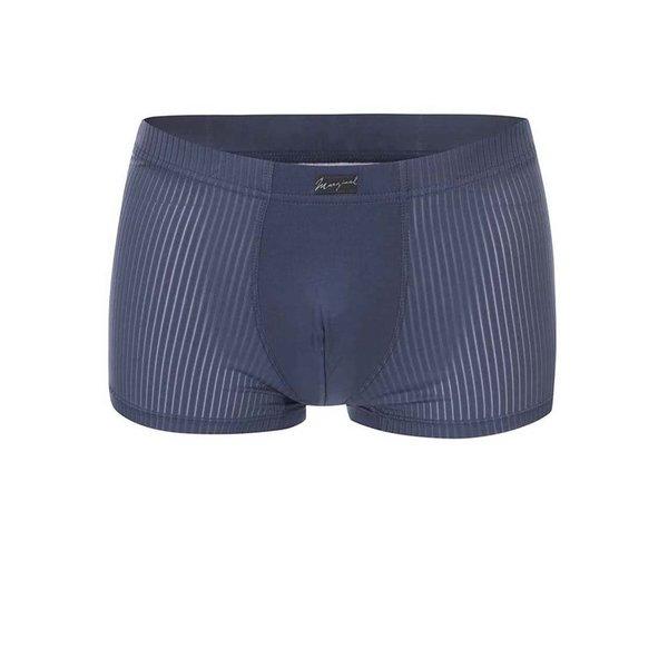 Boxeri bleumarin cu model de la Marginal