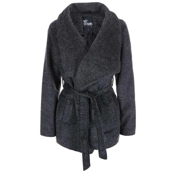 Jachetă scurtă gri Hailys Liliane