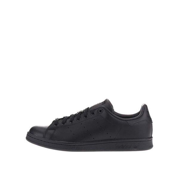 Pantofi sport negri din piele pentru bărbați adidas Originals Stan Smith de la adidas Originals in categoria pantofi sport și teniși