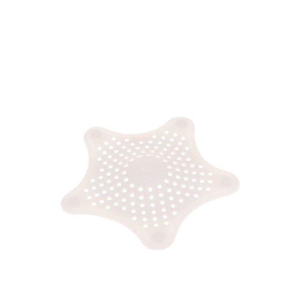 Sită albă pentru scurgerea de la duș Umbra Starfish