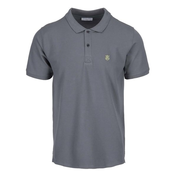 Tricou polo gri Selected Homme Haro de la Selected Homme in categoria tricouri polo