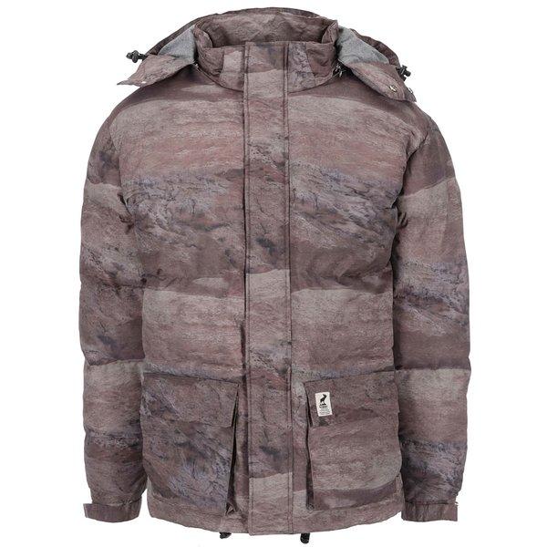 Jachetă de iarnă cu print maro Fat Moose Urban Heat