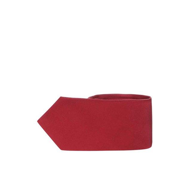 Cravată de mătase vișinie Selected Homme Plain de la Selected Homme in categoria Accesorii