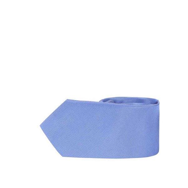 Cravată de mătase albastră Selected Homme Plain de la Selected Homme in categoria Accesorii
