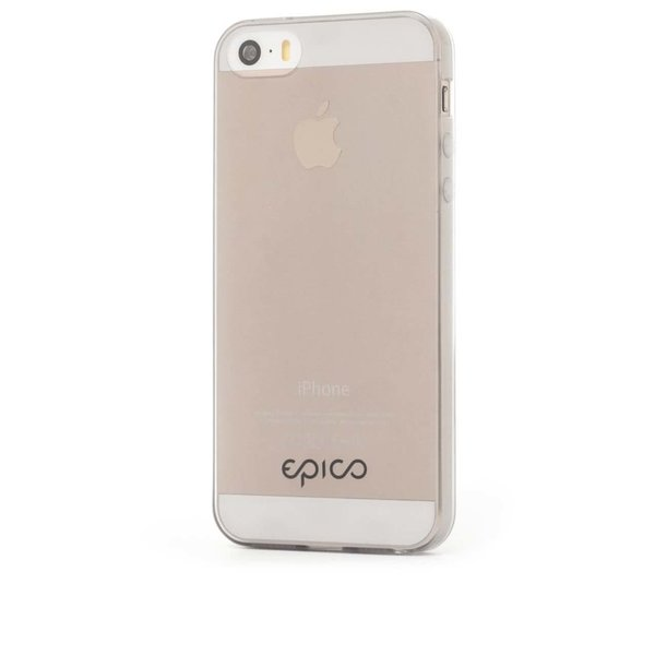 Carcasă ultrasubțire gri Epico pentru iPhone 5/5s