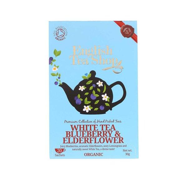 Ceai alb organic cu soc și coacăze English Tea Shop