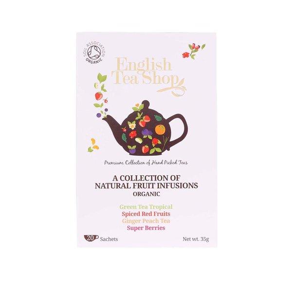 Mix de ceaiuri din fructe organice English Tea Shop Bio