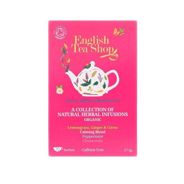 Mix de ceaiuri din plante organice English Tea Shop Bio