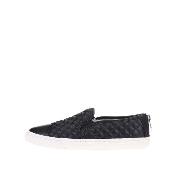Pantofi slip on negri GEOX New Club de damă