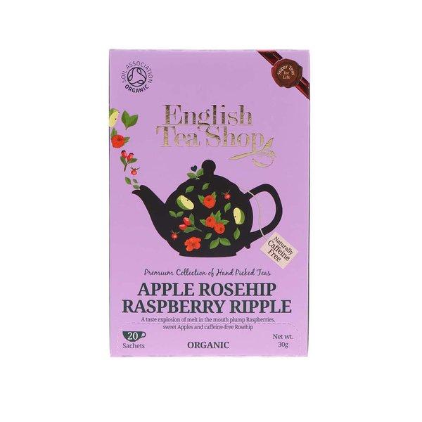Ceai din fructe organice: mar, macese si zmeura English Tea Shop