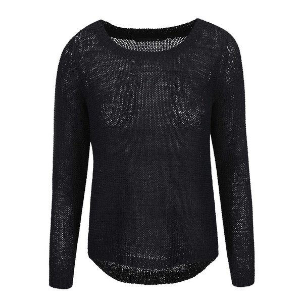 Pulover negru tricotat ONLY Geena