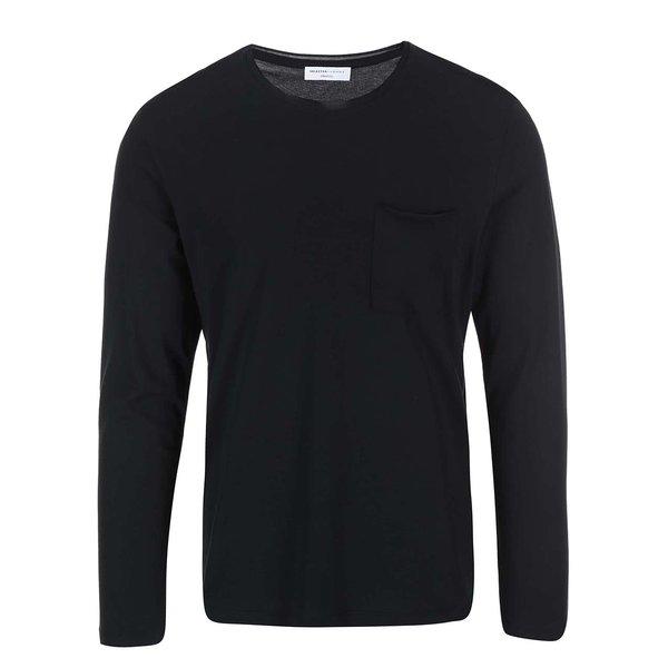 Bluza neagra barbateasca Selected Homme Pima Florence