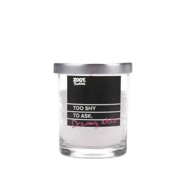 Lumânare ZOOT Buddies cu parfum de iasomie, în recipient de sticlă de la ZOOT Buddies in categoria Pentru dormitor și camera de zi