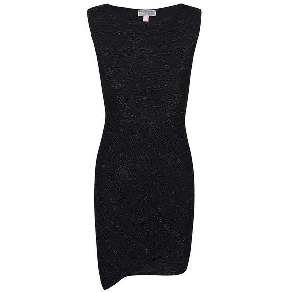 Rochie mini neagră cu paiete Lipsy