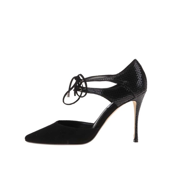 Pantofi cu toc negri Dune London Charleen de la Dune London in categoria pantofi cu toc