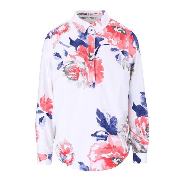 Bluză albă cu imprimeu floral Tom Joule Clovelly de la Tom Joule in categoria Topuri, tricouri, body-uri