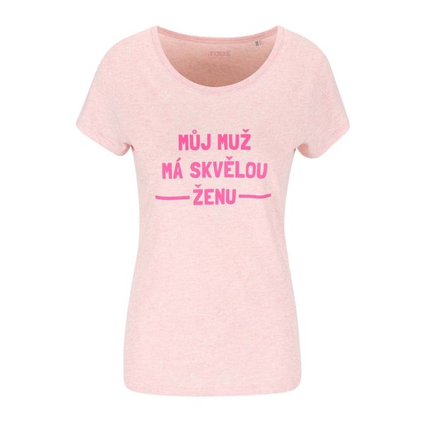Tricou ZOOT ORIGINÁL Amazing Woman de damă roz deschis