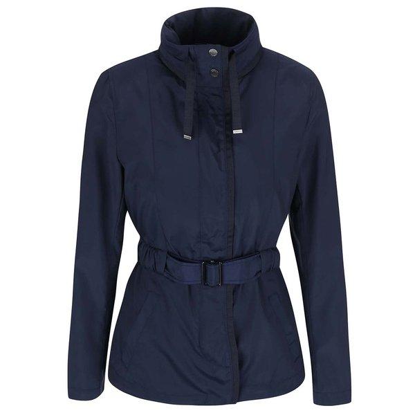 Jacheta albastra cu cordon pentru femei - Geox