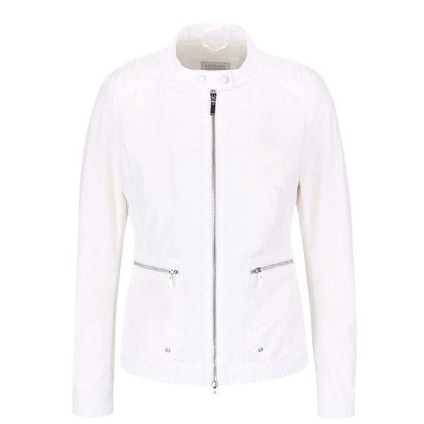 Jachetă de damă Geox albă, impermeabilă
