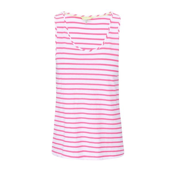 Maiou de damă Tom Joule Cocoprint, de culoare roz-alb de la Tom Joule in categoria maiouri