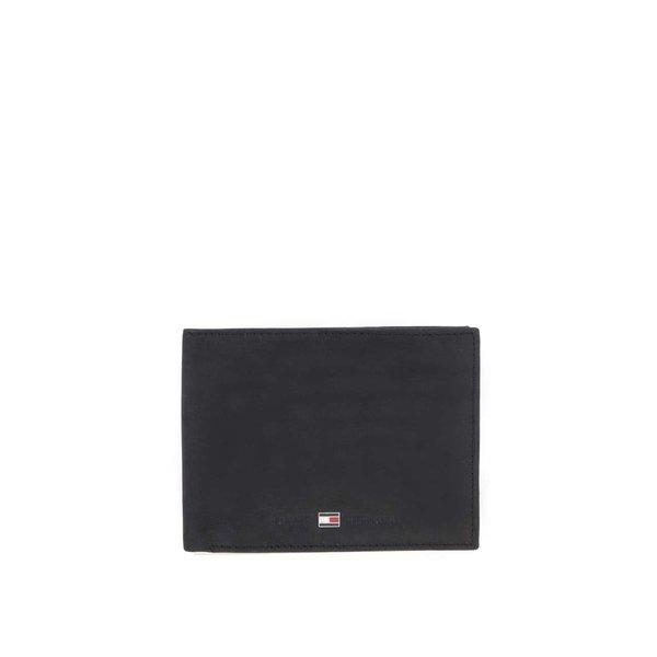 Portofel de bărbați, din piele Tommy Hilfiger Johnson, negru de la Tommy Hilfiger in categoria Rucsacuri, genți, portofele