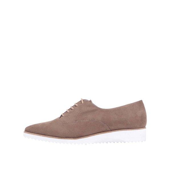 Pantofi oxford OJJU bej de la OJJU in categoria pantofi și mocasini