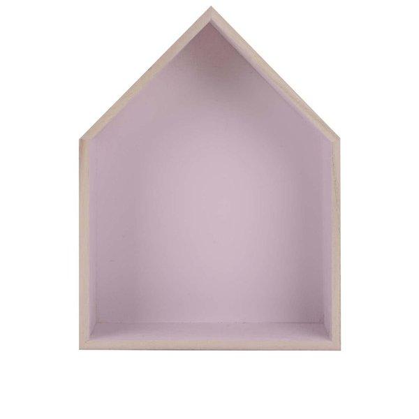 Căsuță violet din lemn Dakls de la Dakls in categoria CASĂ ȘI DESIGN