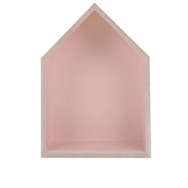 Căsuță din lemn Dakls roz de la Dakls in categoria CASĂ ȘI DESIGN