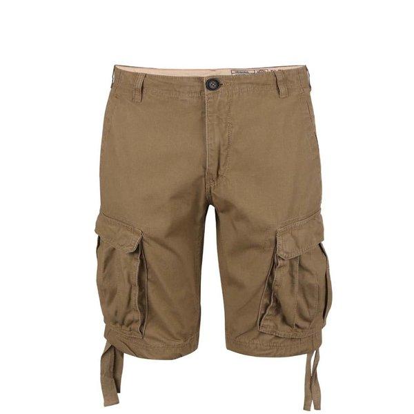 Pantaloni scurți Blend maro cu buzunare