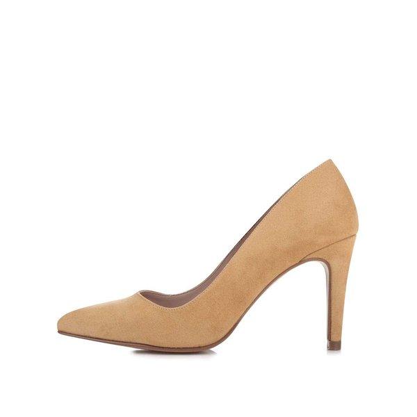 Pantofi cu toc OJJU galben închis de la OJJU in categoria pantofi cu toc