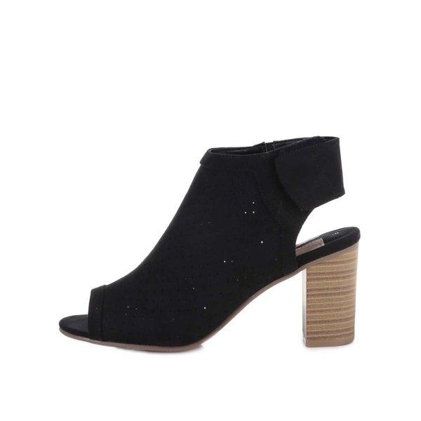 Sandale Dorothy Perkins negre cu toc de la Dorothy Perkins in categoria pantofi cu toc