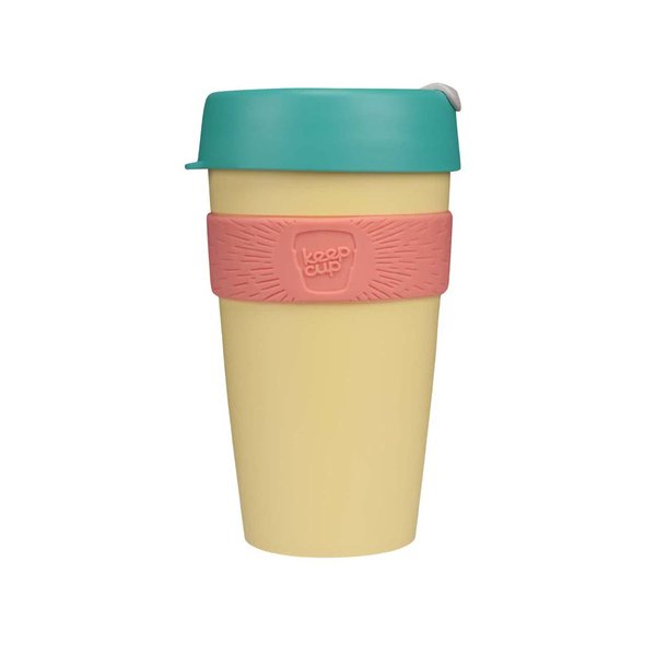 Cană mare de călătorie KeepCup Custard Apple Large