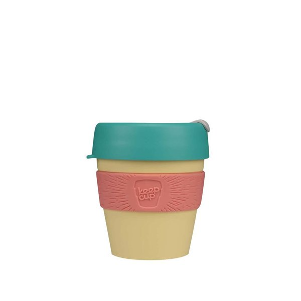 Cană mică de călătorie KeepCup Custard Apple Small